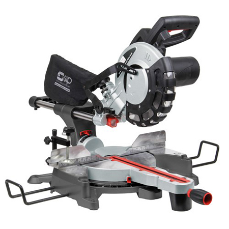 "01511 10"" Compound Sliding Mitre Saw with Laser"