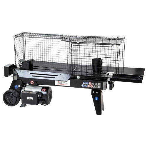 01976 5 Ton Electric Log Splitter with Cage
