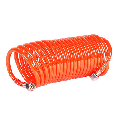 04115 Coiled Air Hose (5m with 1/4