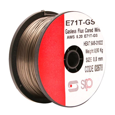 02678 0.8mm Flux Cored 0.90kg Welding Wire (For Gasless)
