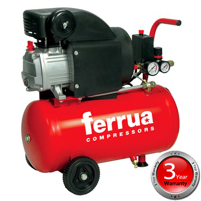 (1) 06457 RC2/24 Ferrua Air Compressor