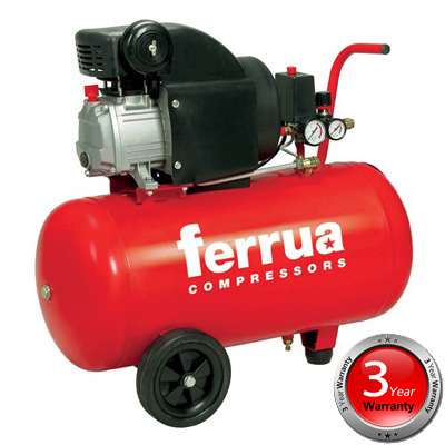 (2) 06459 RC2/50 Ferrua Air Compressor
