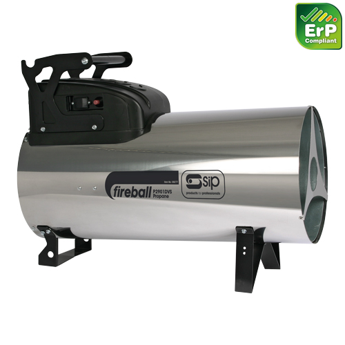 09277 Fireball 2901DV 130,277 - 290,000BTU Propane Gas Space Hea