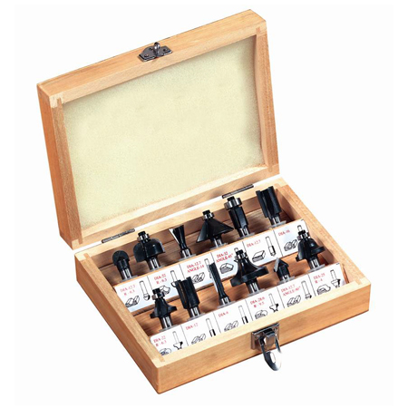 12PC Router Bit Set