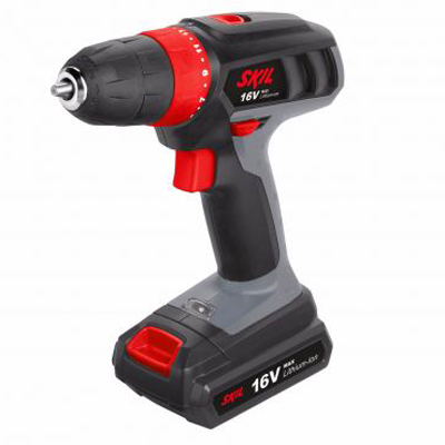 S 2432 AA Cordless drill 16V with 2 Batteries