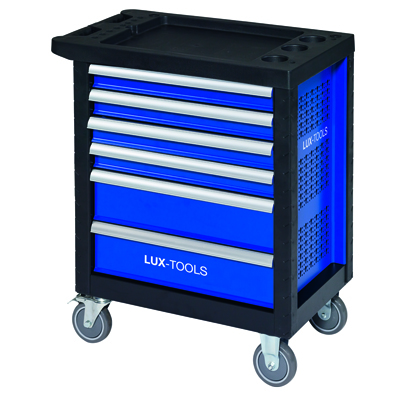 586049 6-Drawer Workshop Tool Trolley