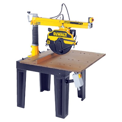 DW729KN 415 Volt 3 Phase 350mm Radial Arm Saw