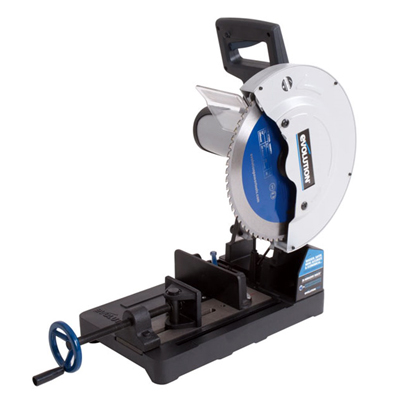 EVO3552 355mm Steel Cutting Chop Saw & Blade