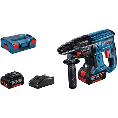 GBH 18V-21 CORDLESS SDS ROTARY HAMMER W/CASE WITH 2 X 4.0AH BAT