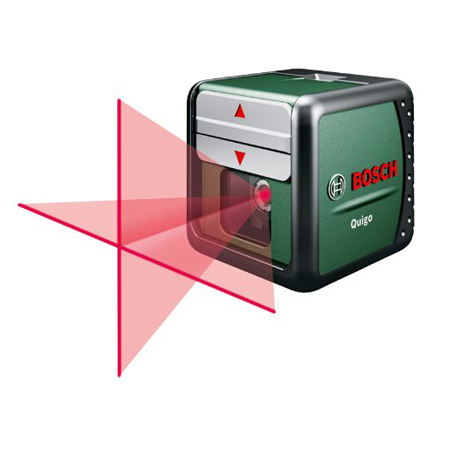 Quigo Self-Levelling Cross-Line Laser Level