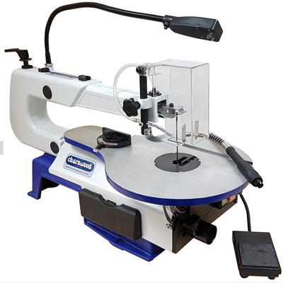 "SS16F - 16"" Variable Speed Scrollsaw with Foot Pedal"