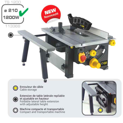 TS 1200 Bench Saw