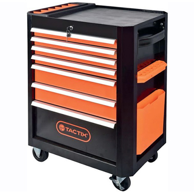 6700860 Cabinet On Wheels With 7 Drawers