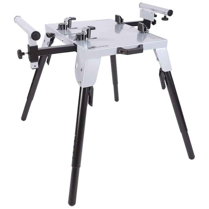 Chop Saw Stand With Universal Fittings