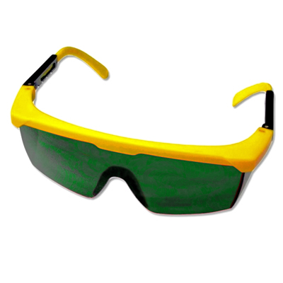 Green Laser Enhancement Glasses