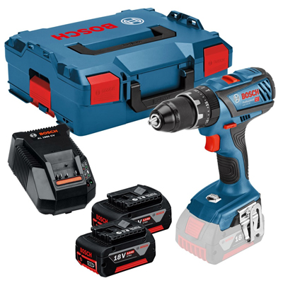 GSB 18 V-28 Combi Drill inc 2x 5.0Ah Batteries