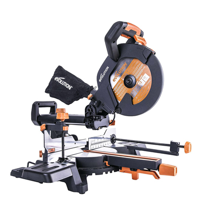 R210SMS-300+ 210mm Multi-material Sliding Mitre Saw