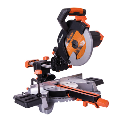 R255SMS 255mm TCT Multi-Material Cutting Sliding Mitre Saw