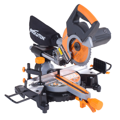 RAGE 3S PLUS 210mm Multipurpose Sliding Mitre Saw