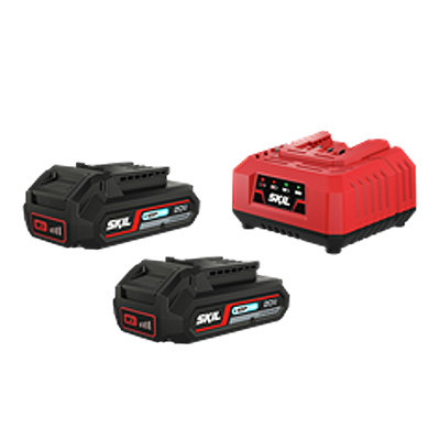 S 3113 BA 20V 2.0A Twin Battery set & Charger