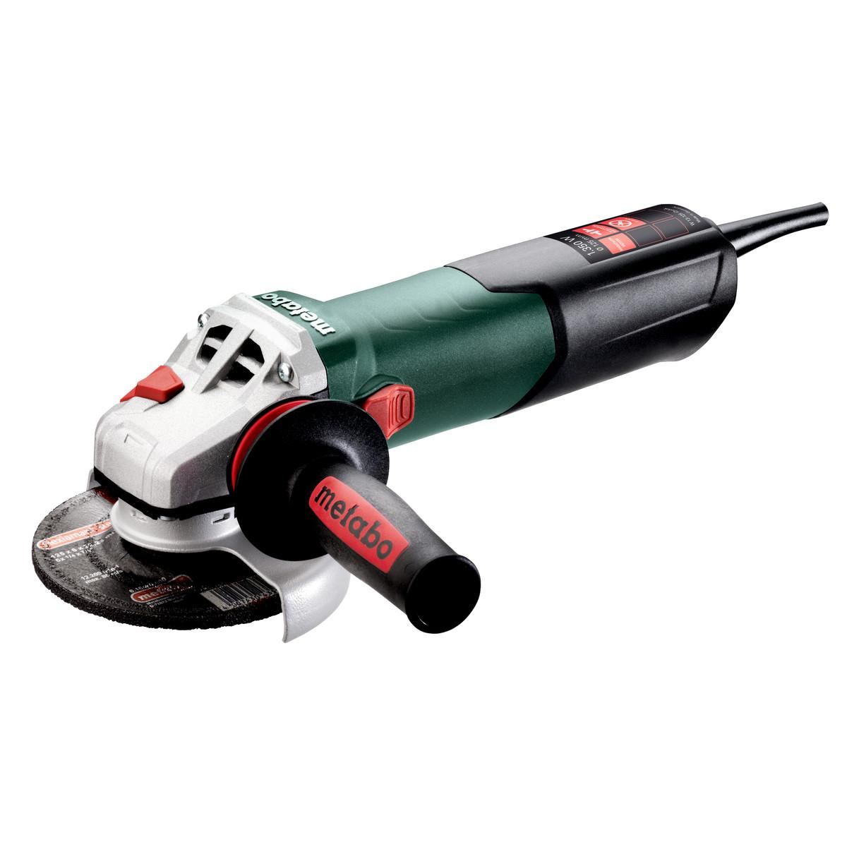 W 13-125 QUICK ANGLE GRINDER VAR.SPEED