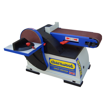 W408P Disc & Belt Sander With Velcro Kit, Discs & Belts