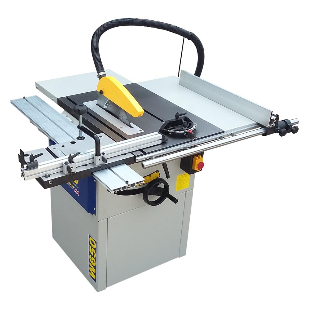 W650 10'' Professional Cast Iron Table Saw